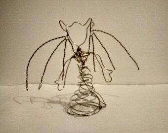 Devil Tree topper // Wire Art // Figure