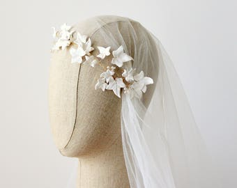 IVY Wedding Headdress,Rustic Bridal Hair Vine,Woodland Wedding Halo,Ivy Bridal Crown, Wedding Hair Vine, Wedding Wreath, Woodland Crown
