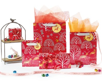 Christmas Deer Gift Paper bags Or Wrapping Paper