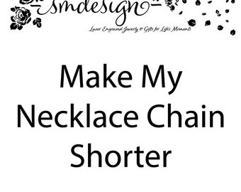 Make My Necklace Chain Shorter