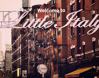 Little Italy - New York City art Print, New York Landscape Photography by Leigh Viner