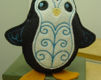 Embroidered Penguin