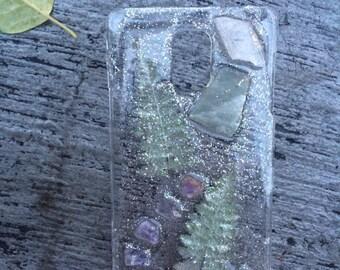 Samsung Galaxy Note 4  - Amethyst, Fluorite - Crystal Phone Case