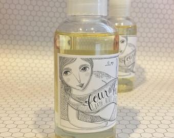 Body Oil  { dry skin oil / dry skin treatment / all natural skin care / massage oil / gift for her / Mother's Day gift }