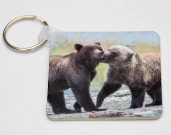 "Bears 610 and ""Pepper"" Keychain"