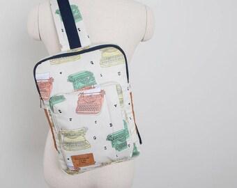 Kenzie Cross Body Sling Bag (MacBook Size) PDF Sewing Pattern (#1268)