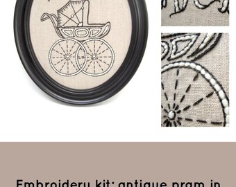 Pram Embroidery Kit {basic}