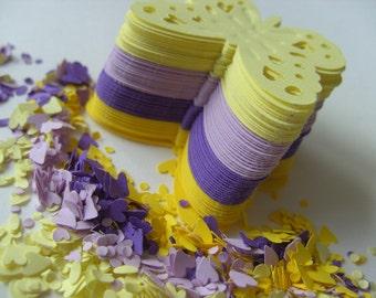 120, Iris mix, purple,lilac, yellow, Butterflies, butterfly, paper, by DoodleDee2 on etsy