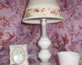 LAMP SHABBY CHIC spring
