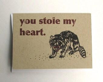 Thieving Raccoon Card