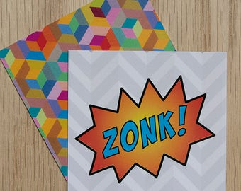 "Replacement Card ""Zonk"" — Oh Those Monsters: Memory Game"