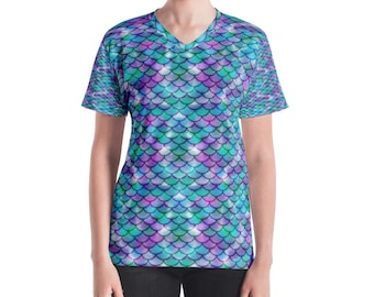 Mermaid Scales All Over Tee