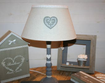 """light taupe and grey style """"country house"""" heart happiness"""