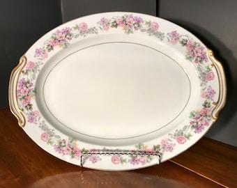 """Noritake """"Roselane"""" Large Platter"""