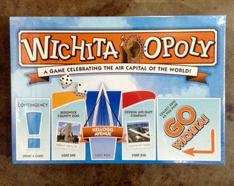 Wichita-opoly Board Game