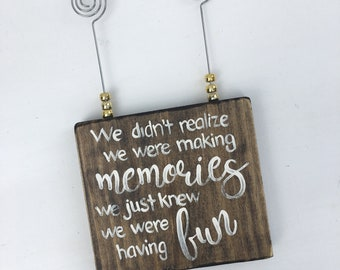 Picture Holder,birthday gift, best friend gift, wedding gift,Picture holder, card holder, picture holder, desk mate, office decor,