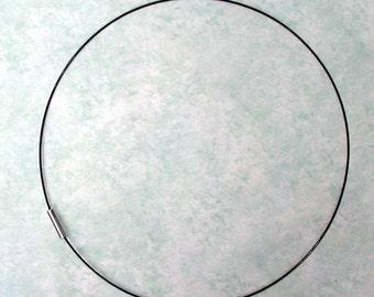 16 Zoll schwarz magnetische Schnur, schwarzes Halsband, Anhänger Kabel