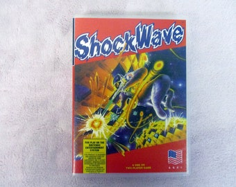 Shock Wave Custom NES/Nintendo Case Only (***No GAME***)