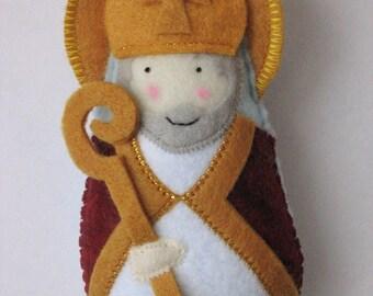 Saint Augustine Felt Saint Softie