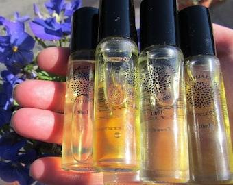Rollerball Cuticle Oil in Rose, Lavender, Grapefruit, Bergamot, Lemon & Tea Tree Peppermint
