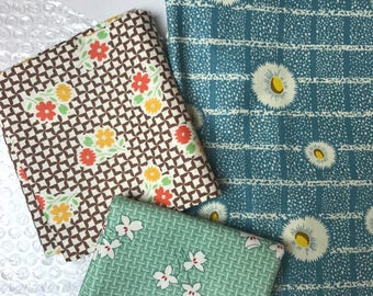 1930s Style Fabric / 1940s Style Fabric /Fabric Destash / Fabric Sale / Quilters Fabric / Quilters Cotton / Clearance Fabric / Fabric