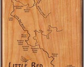 Little Red River Map Cust...