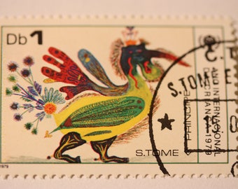 Mint condition - 2 unique stamps from St. Thomas
