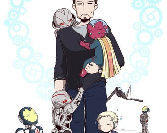 Children of Tony Stark