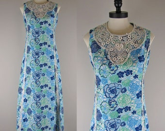 1960s Lilly Pultizer Maxi Dress / Vintage Lilly Pultizer Maxi Dress