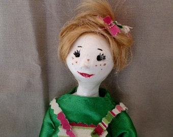 "New series ""The girlfriends"" Maddy doll polymer clay"