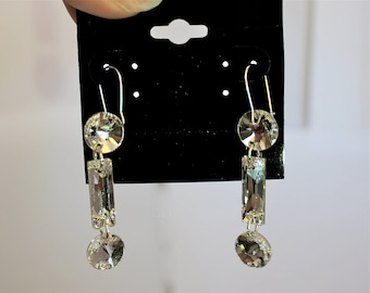 Swarovski Drop Ballroom Earrings