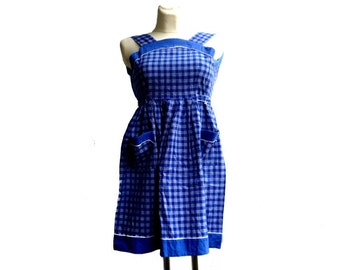 60's Vintage dress / Coton dress / Summer dress / XXS