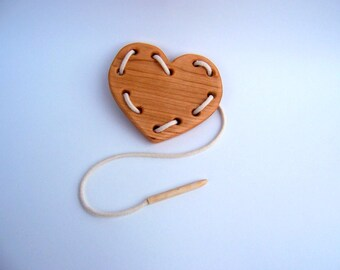 Valentine's Heart Lacing Toy