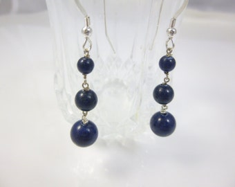 lapis with w t sterling chalcedony jewelry ct and white drop earrings gemstones sapphires in