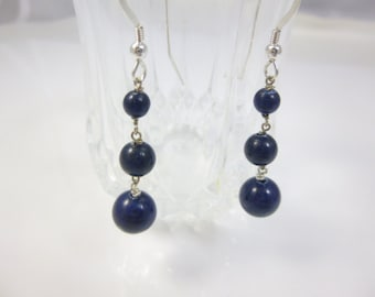 spark earrings w mickey products jewelry raw lapis with chains lynn