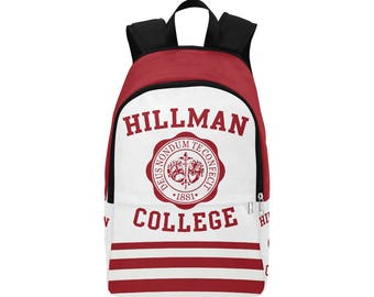Hillman College Fabric Backpack for Adults