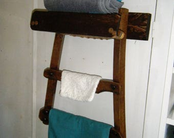 Porte-serviettes Chaise, récup et détournement
