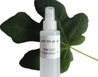 vegan body and aromatherapeutic room spray - 118 ml / 4 oz - 6 scents available