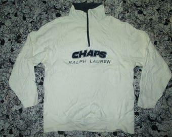 sweatshirt CHAP ralfh Lauren halfzipper
