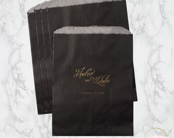 Personalized Favor Bags | Ella Wedding Collection