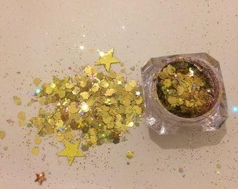 Chunky Glitter / Festival Body Glitter / Nail Glitter / Holographic Glitter /SASHAY AWAY\