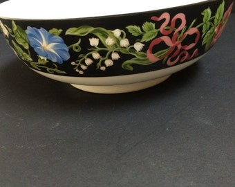 "Tiffany & Co Merrion Square 7.5 "" Pattern Sybil Connolly  China  Serving Dish"