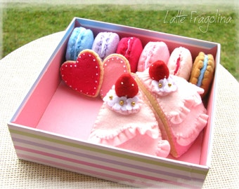 A set of assorted sweets for the Tea Party