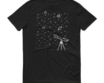 Constellation and Stars Short-Sleeve T-Shirt