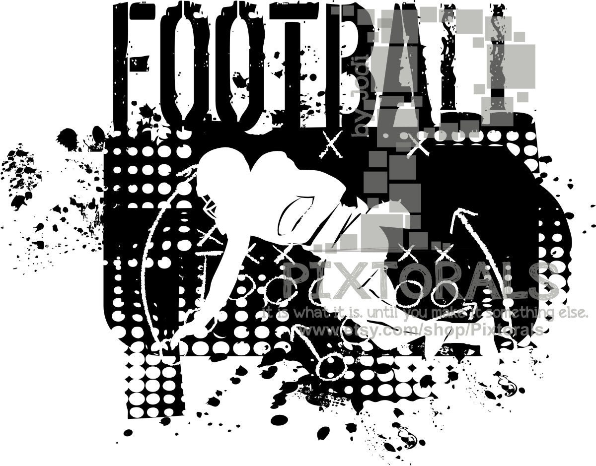 T Shirt Design Line Art : Football plays design png eps jpeg pdf t shirt graphics