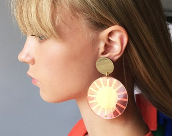 SOLIS LUMEN | Earrings from FABULA collection