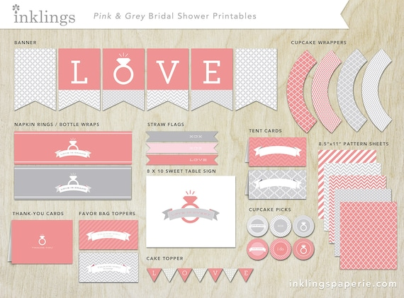 photograph about Free Printable Bridal Shower Banner referred to as absolutely free printable bridal shower decorations Decoration For House
