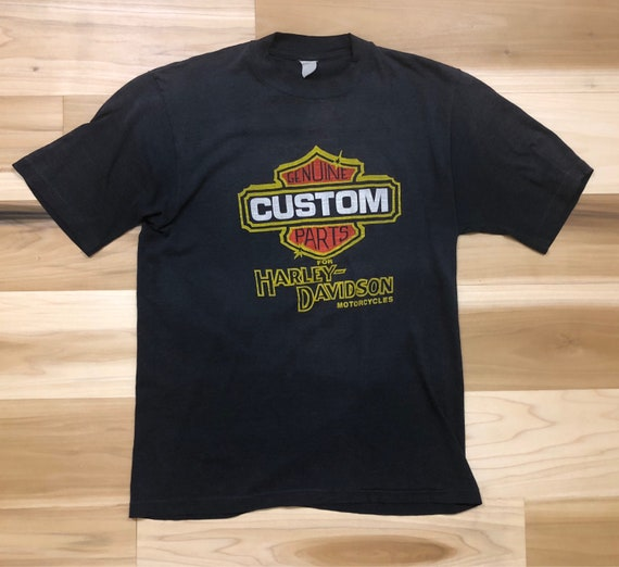 70s Harley Davidson T-shirt Custom Cycles Daytona