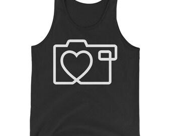 Photographer Lover Photography Cameraman Camera Tank Top