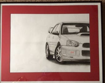 Cars, Animals, Custom Pencil Drawings, Charcoal, Pencil, Father's Day, Special Occasion,